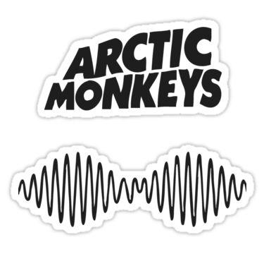 Arctic Monkeys Am Logo Sticker By Tavinci - Arctic Monkeys Vector, Transparent background PNG HD thumbnail