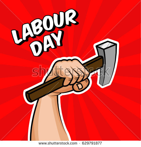 Strong Arm Holding A Hammer, Factory Worker, Handyman, Builder. Concept In Soviet - Arm And Hammer Vector, Transparent background PNG HD thumbnail
