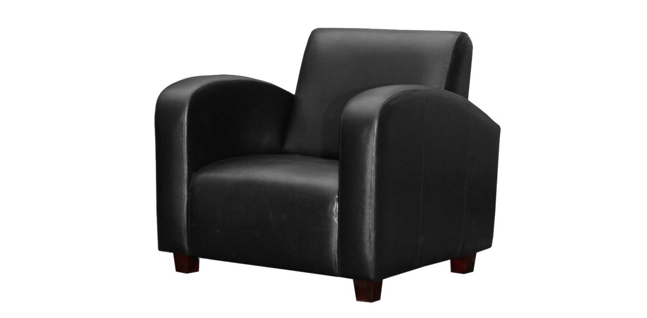 Black Armchair Png Image - Armchair, Transparent background PNG HD thumbnail