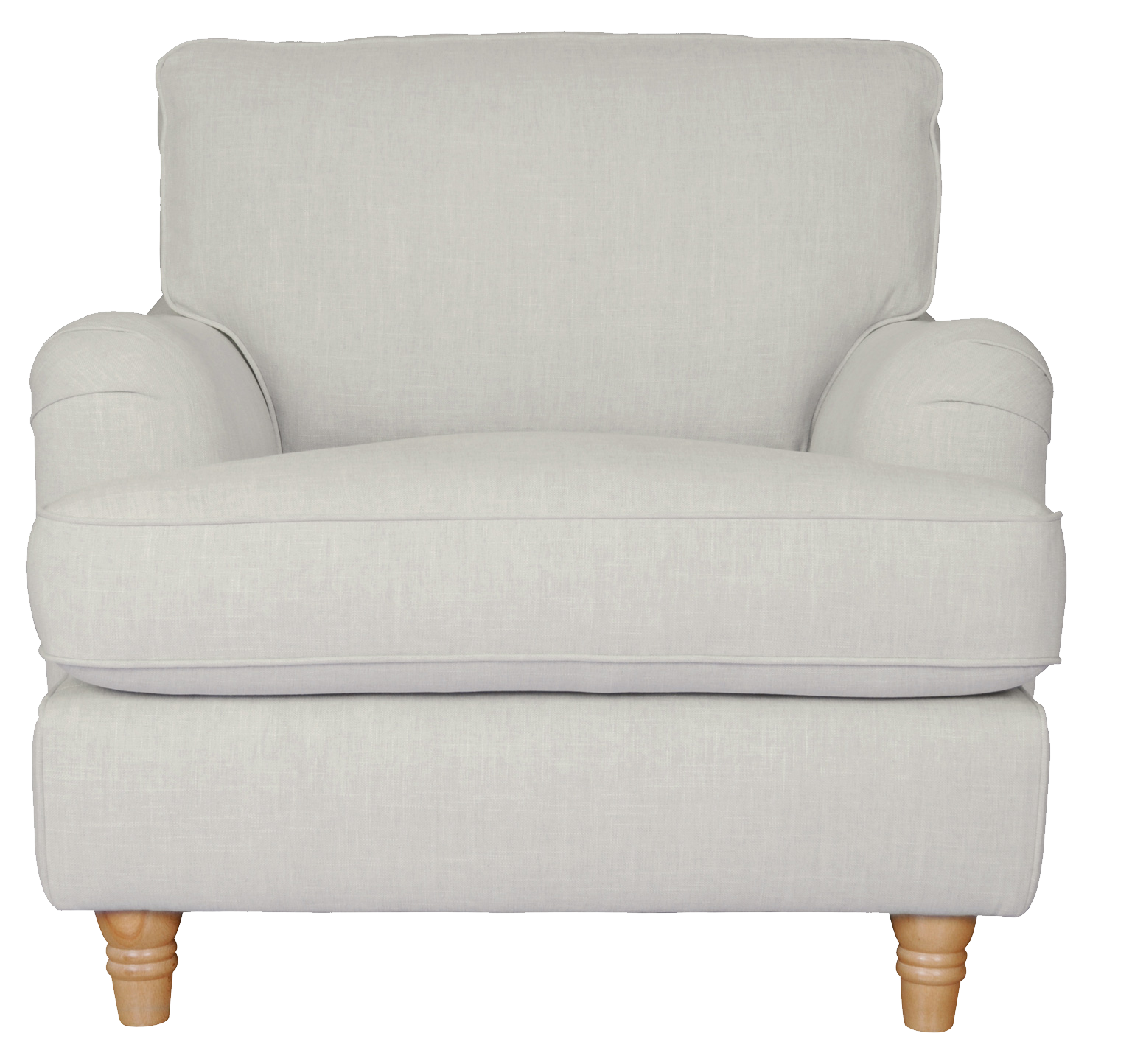 White Armchair Png Image - Armchair, Transparent background PNG HD thumbnail