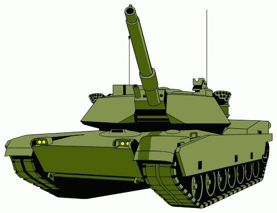Army Clipart - Military Tank, Transparent background PNG HD thumbnail