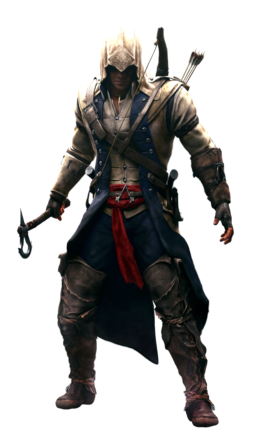 Aci Connor.png - Assassins Creed, Transparent background PNG HD thumbnail