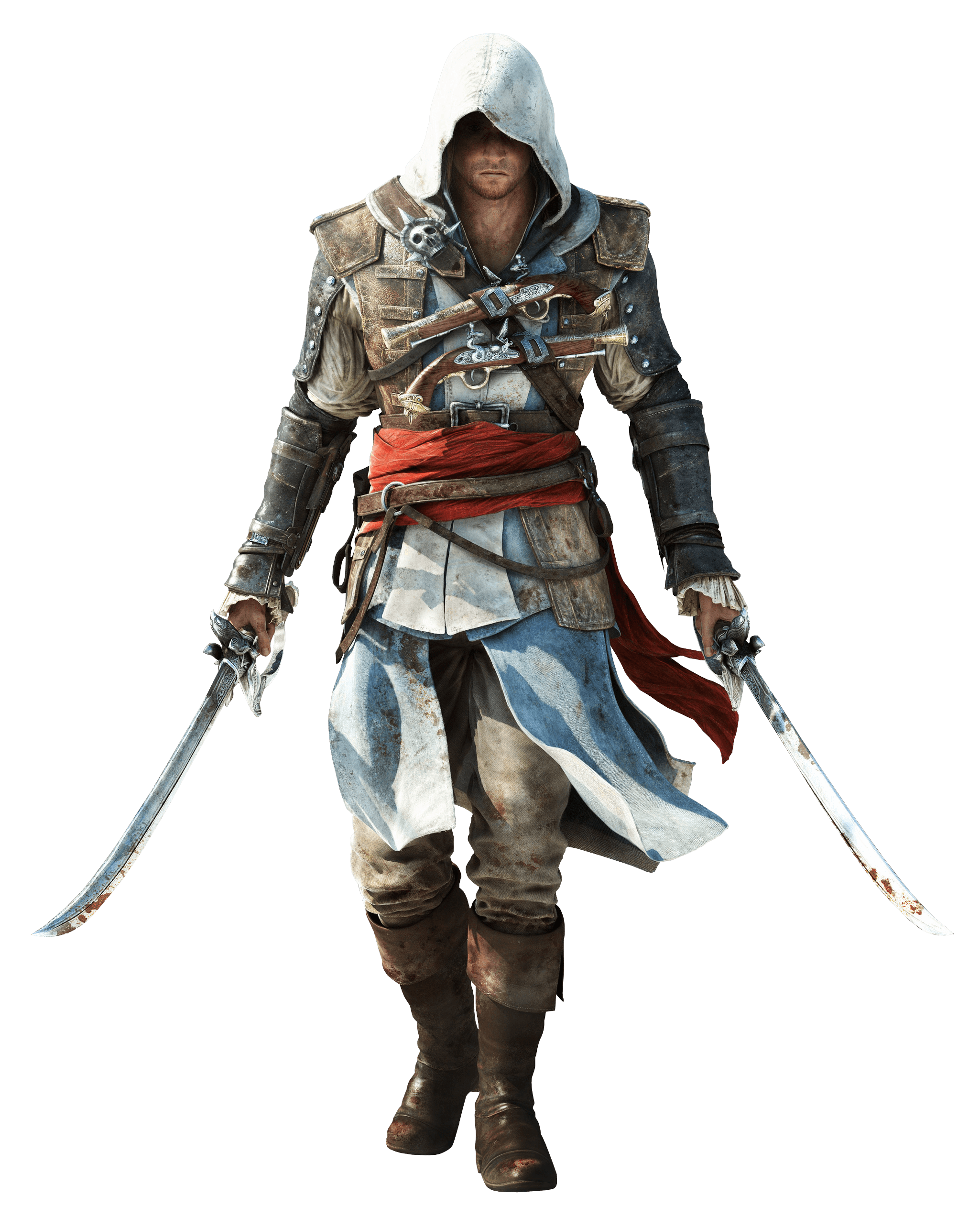 Assassins Creed Two Swords - Assassins Creed, Transparent background PNG HD thumbnail