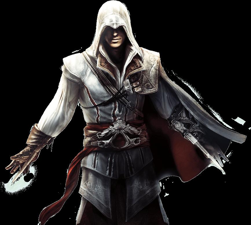 Ezio - Assassins Creed, Transparent background PNG HD thumbnail