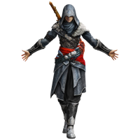 Ezio Auditore Transparent Png Image - Assassins Creed, Transparent background PNG HD thumbnail