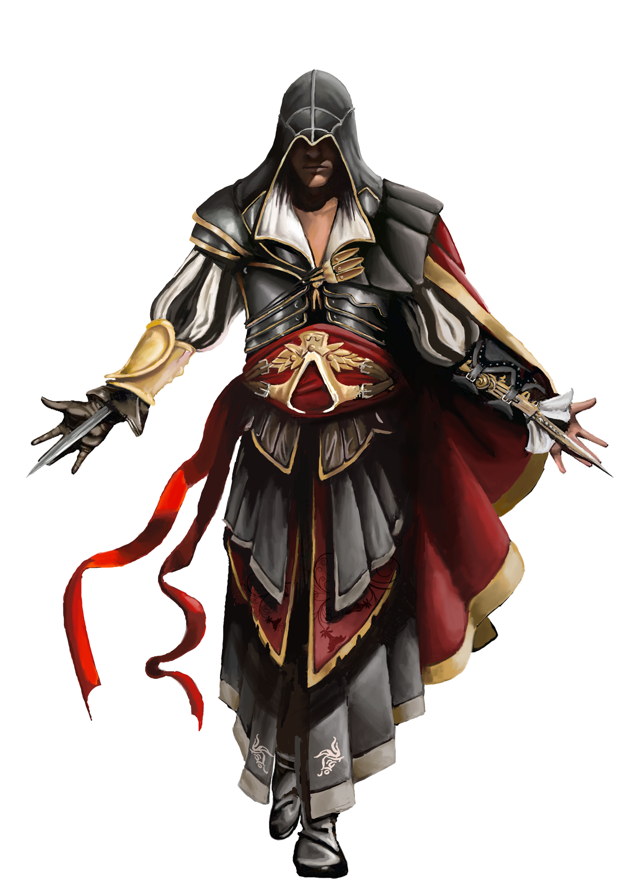 Ezioinarmorofatlair.png - Assassins Creed, Transparent background PNG HD thumbnail