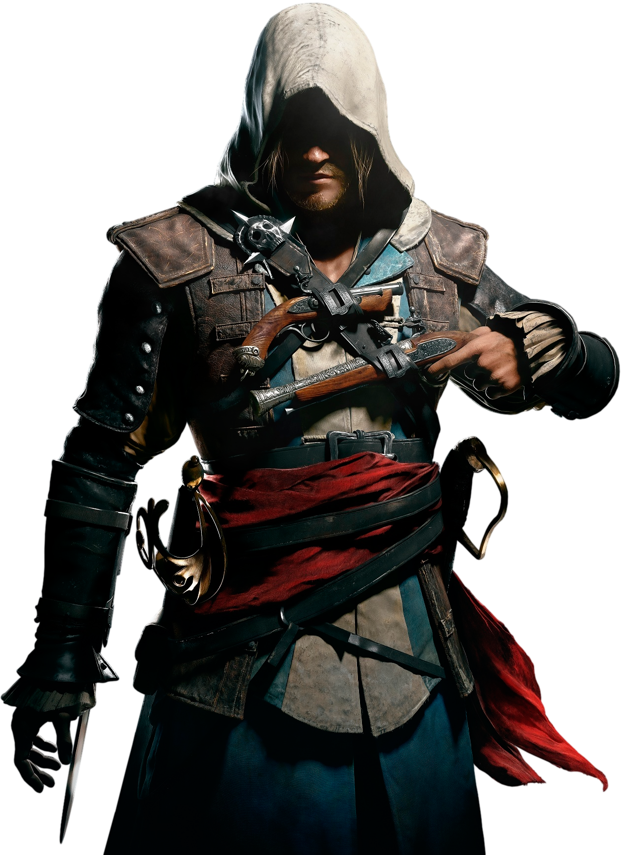 Theodore Ravensdale - Assassins Creed, Transparent background PNG HD thumbnail