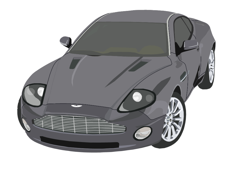 Aston Martin Db9 Vector By Partthethird Hdpng.com  - Aston Martin Auto Vector, Transparent background PNG HD thumbnail