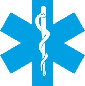 Star Of Life Logo - Auto Life Blindagens Vector, Transparent background PNG HD thumbnail