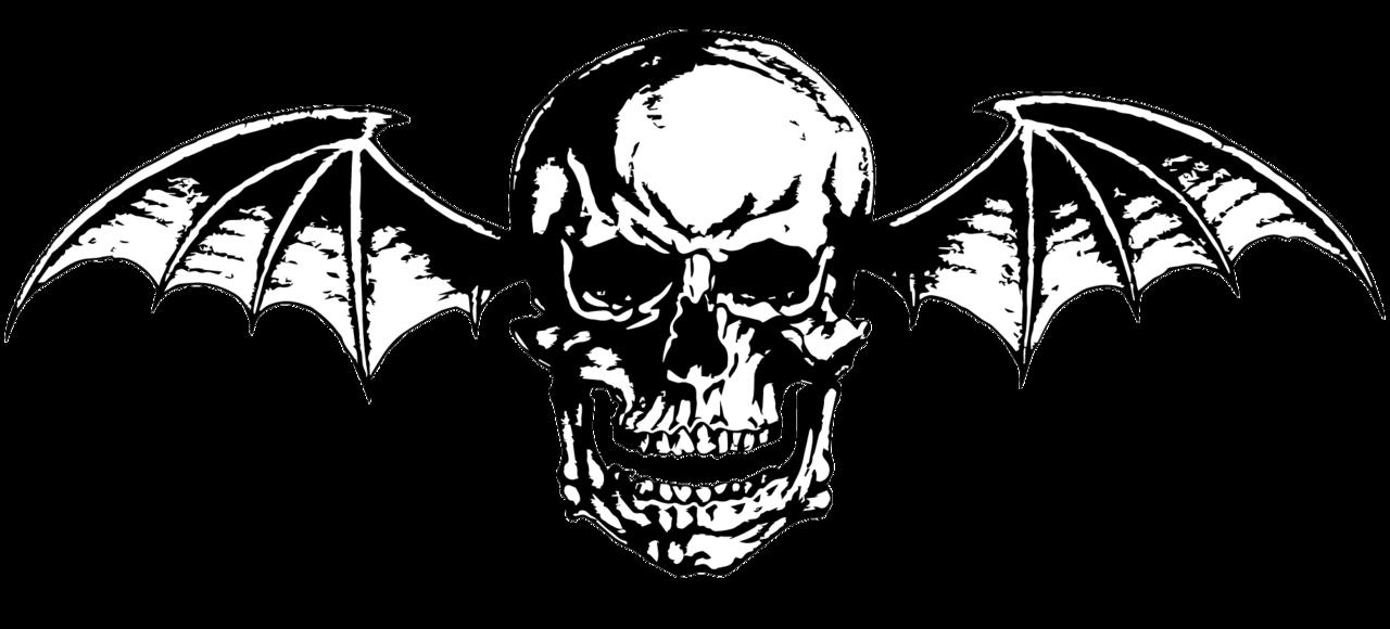 Avenged Sevenfold ~ Deathbat (Vector/png) B/w Logo By Lightsinaugust - Avenged Sevenfold, Transparent background PNG HD thumbnail