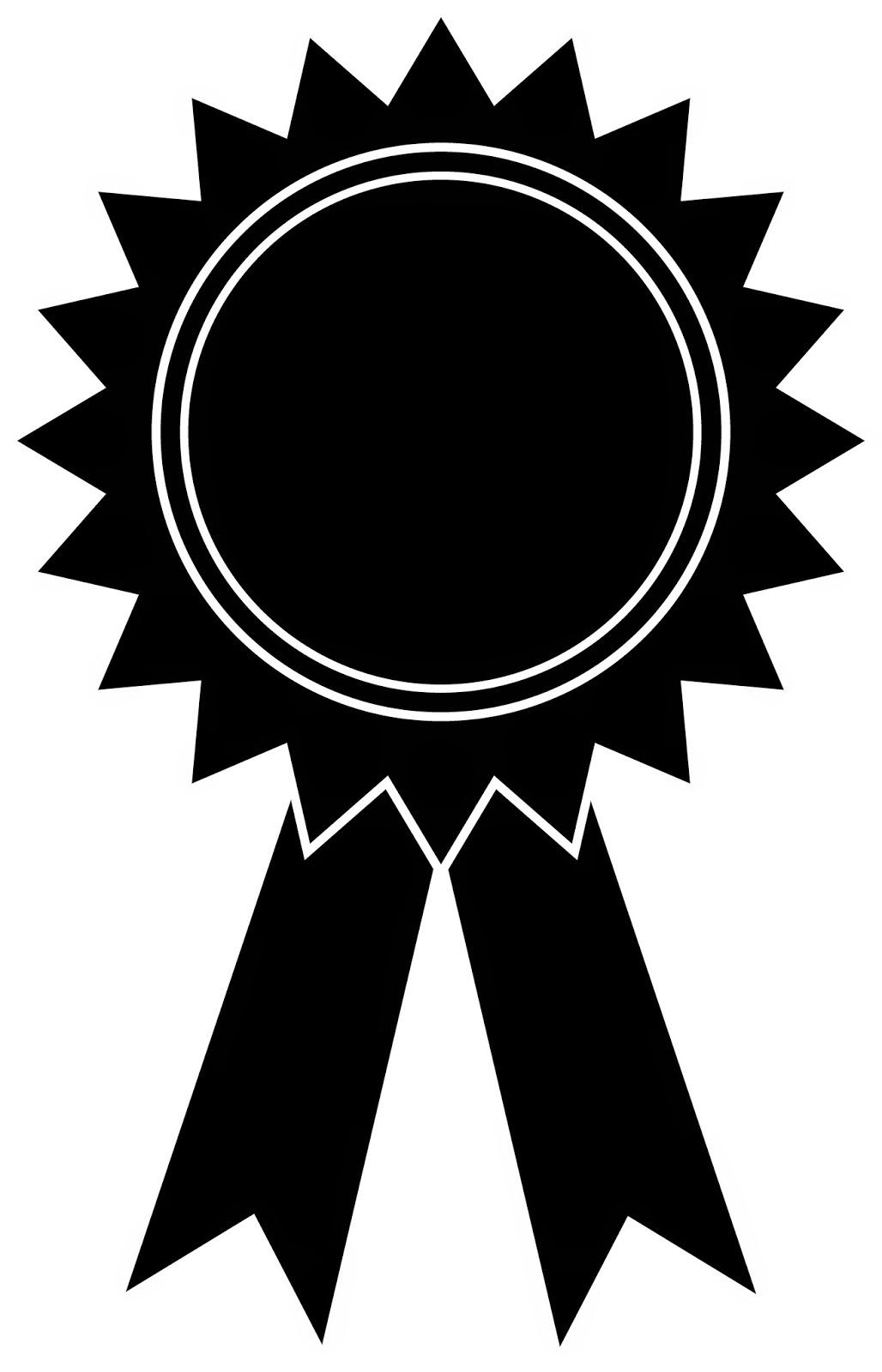 Award Ribbon Png Black And White - Award Ribbon Clipart Black And White · Award Outline Cliparts, Transparent background PNG HD thumbnail