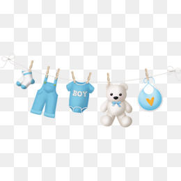 Drying Baby Clothes Patterns, Drying Baby Clothes, Drying Toy Bear, Cartoon Drying Pattern - Baby Toys Borders, Transparent background PNG HD thumbnail
