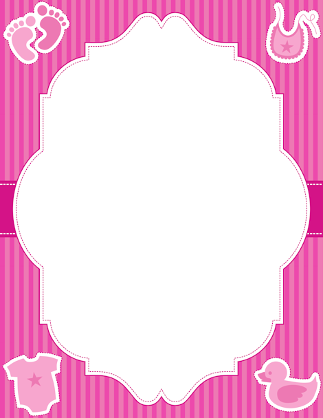 Free Baby Girl Border Templates Including Printable Border Paper And Clip Art Versions. File Formats Include Gif, Jpg, Pdf, And Png. Vector Images Are Also Hdpng.com  - Baby Toys Borders, Transparent background PNG HD thumbnail