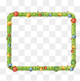 Green Vivid Video Borders, Video Borders, Green, Vivid Png And Vector - Baby Toys Borders, Transparent background PNG HD thumbnail
