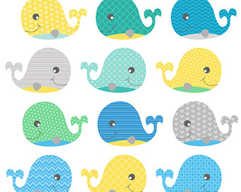 Baby Whale Clip Art - Baby Whale, Transparent background PNG HD thumbnail