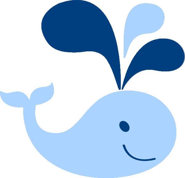 Blue Baby Whale Clip Art At Clker Pluspng.com   Vector Clip Art Online, Royalty Free U0026 Public Domain - Baby Whale, Transparent background PNG HD thumbnail