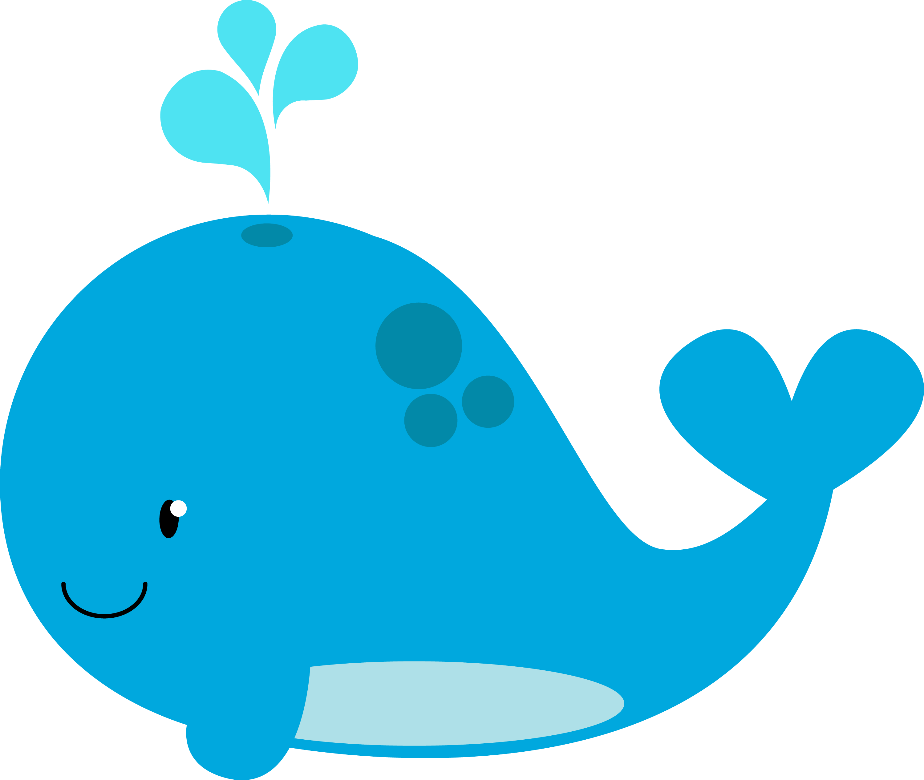 Pin Whale Clipart For Kid #9 - Baby Whale, Transparent background PNG HD thumbnail