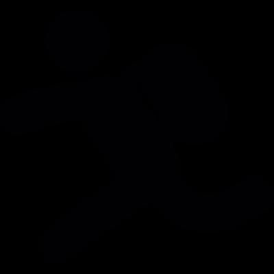 Backpacker Running - Backpacker Vector, Transparent background PNG HD thumbnail