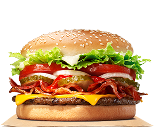 Bacon U0026 Cheese Whopper® Sandwich - Burger Sandwich, Transparent background PNG HD thumbnail