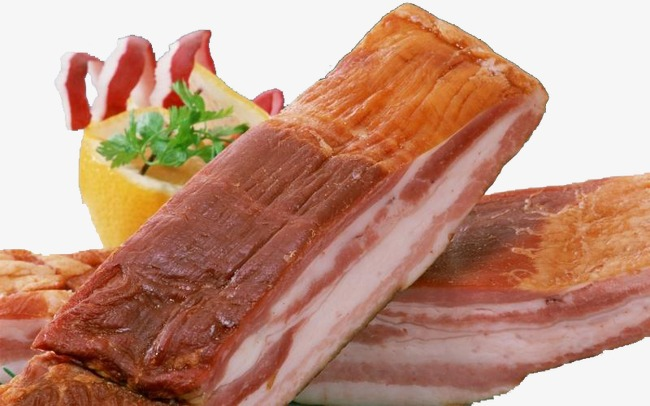 Bacon Block, Bacon Strips, Food Png Image And Clipart - Bacon Strips, Transparent background PNG HD thumbnail