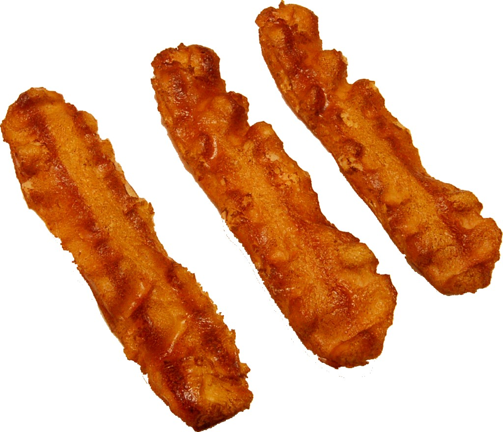 Bacon Strip 3 Piece Fake Food U.s.a. - Bacon Strips, Transparent background PNG HD thumbnail