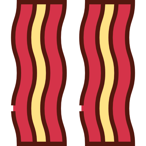 Png Svg Hdpng.com  - Bacon Strips, Transparent background PNG HD thumbnail