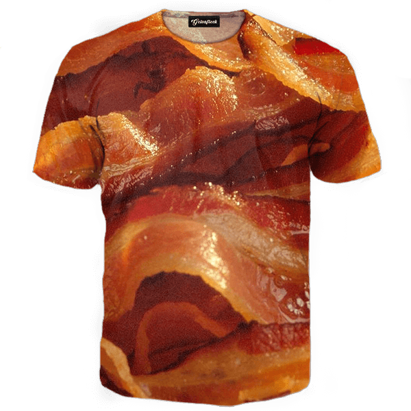 Quick View - Bacon Strips, Transparent background PNG HD thumbnail