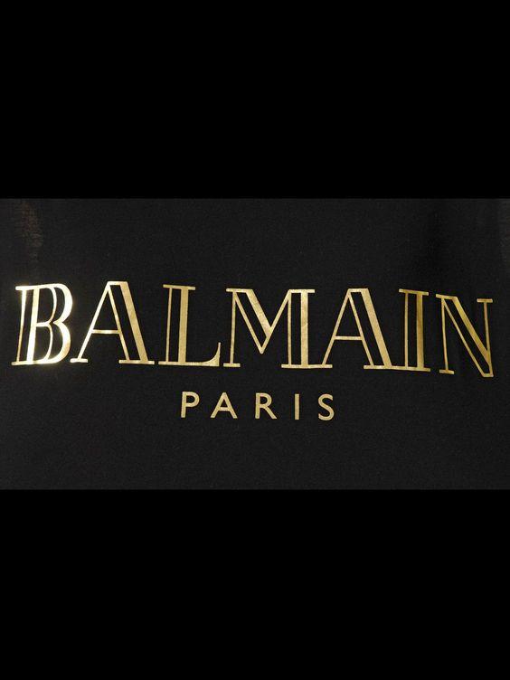 Balmain Logo Cerca Con Google Brands Pinterest Balmain Paris And Logos - Balmain, Transparent background PNG HD thumbnail