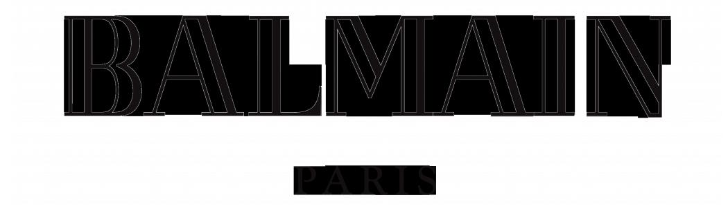 Balmain Logo, Logotype, Wordmark - Balmain, Transparent background PNG HD thumbnail