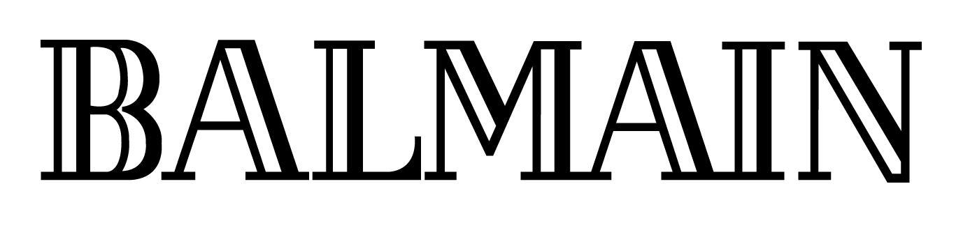File:balmain Logo.jpg - Balmain, Transparent background PNG HD thumbnail