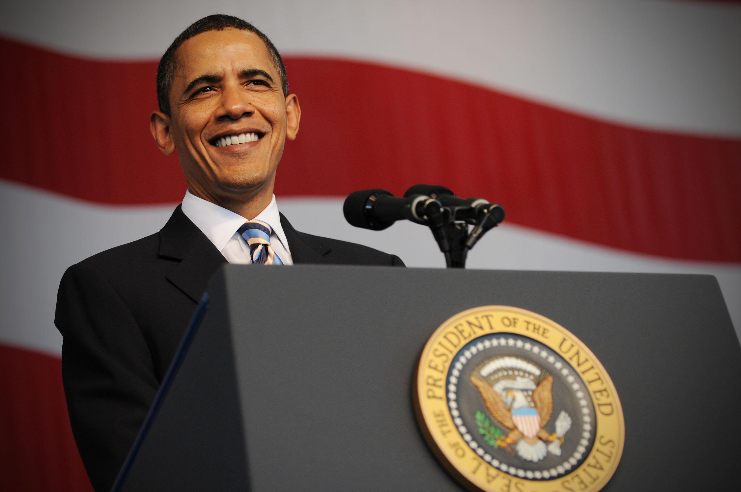 Barack Obama Image - Barack Obama, Transparent background PNG HD thumbnail