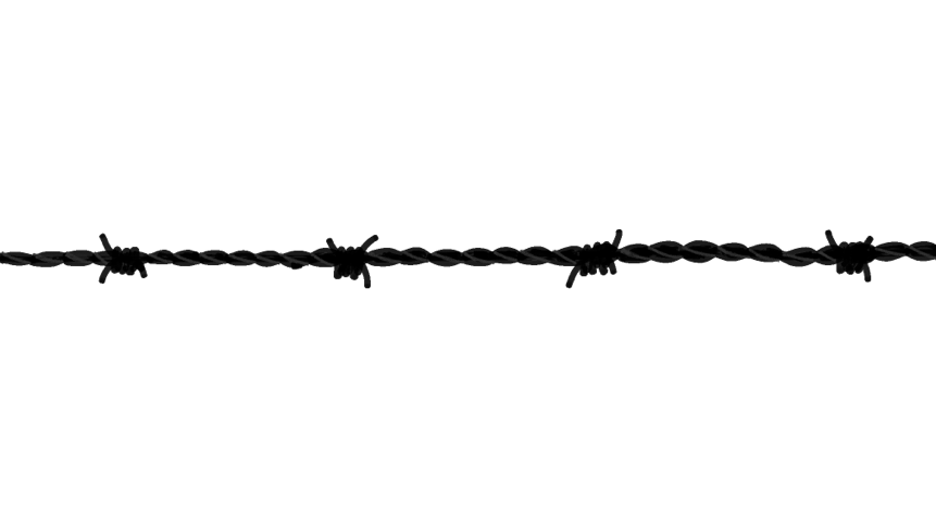 Barbed Wire - Barbed Wire, Transparent background PNG HD thumbnail