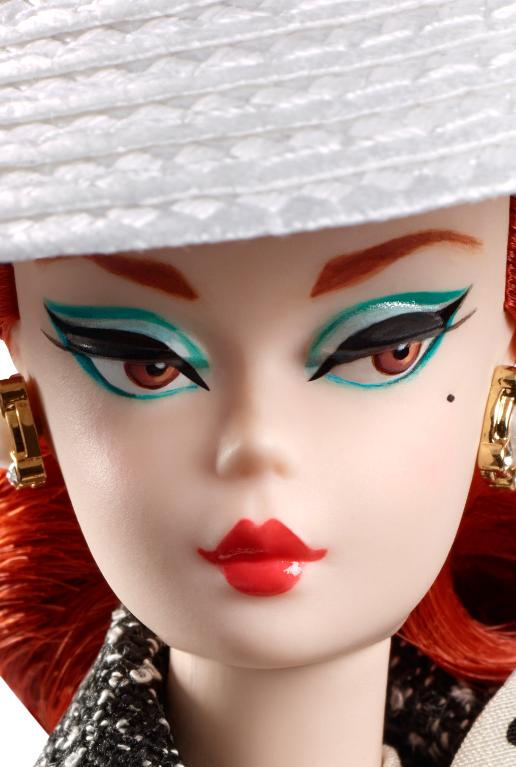 2017 Silkstone® Dolls. Black U0026 White Tweed Suit Barbie Hdpng.com  - Barbie Doll Black And White, Transparent background PNG HD thumbnail