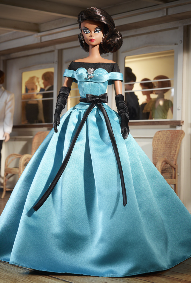 Ball Gown Barbie® Doll.png 640×950 Pixels - Barbie Doll Black And White, Transparent background PNG HD thumbnail