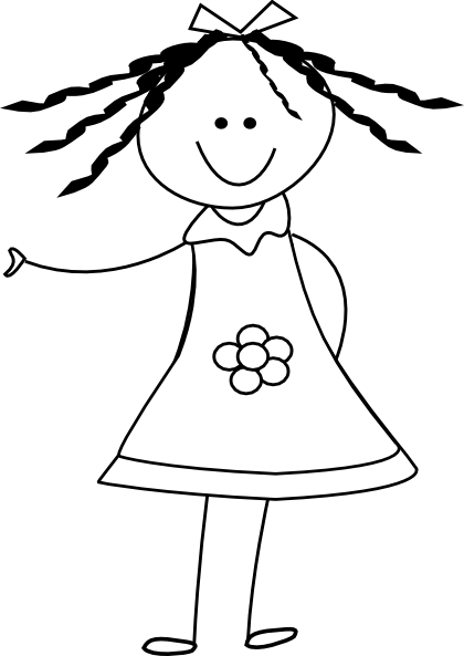 Doll Clipart Black And White · Barbie Doll Cliparts - Barbie Doll Black And White, Transparent background PNG HD thumbnail