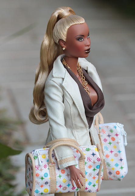 Many African Americans Find The Dollu0027S Appearance Offensive, Stating That It Does Not Exude The True Beauty Of African American Women. Article Here! - Barbie Doll Black And White, Transparent background PNG HD thumbnail