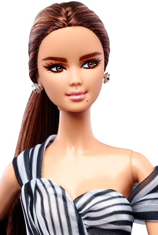 See The Video From Suresh Ny See The Whole Doll And Shoes. Hear What His Opinion Is On The Doll.  U003E - Barbie Doll Black And White, Transparent background PNG HD thumbnail