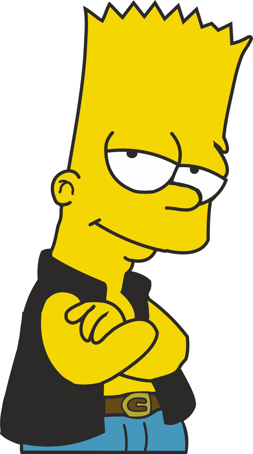 Bart Simpson Free Png Image Png Image - Bart Simpson, Transparent background PNG HD thumbnail