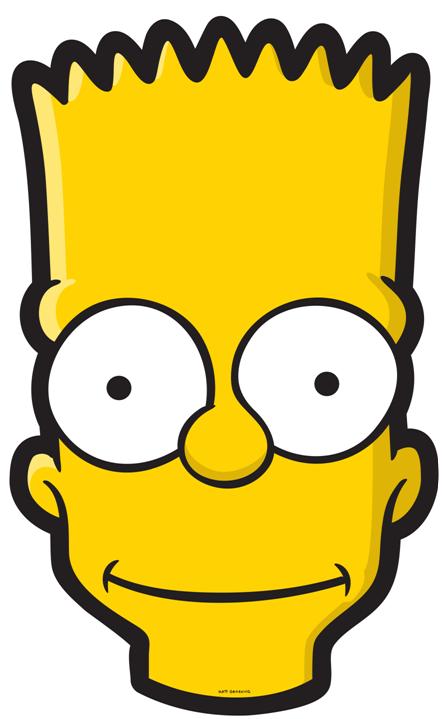 Bart Simpson Head.png - Bart Simpson, Transparent background PNG HD thumbnail