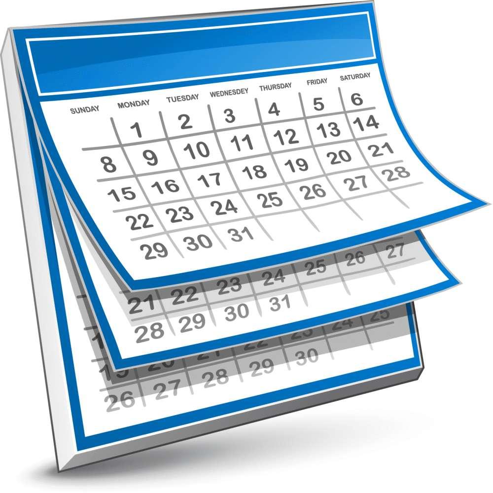 2018 2019 School Year Calendar - Beginning Of School Year, Transparent background PNG HD thumbnail