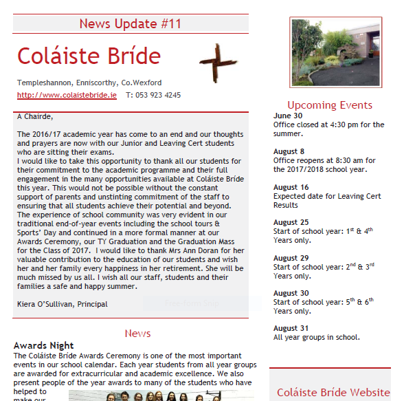 Copyright © 2015 Coláiste Bríde Secondary School, Enniscorthy. All Rights Reserved Website Privacy - Beginning Of School Year, Transparent background PNG HD thumbnail