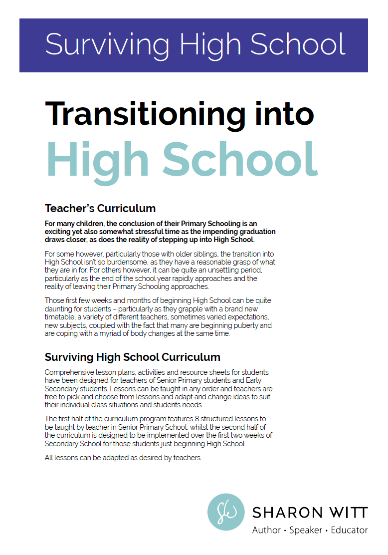 Preparing For High School Curriculum By Sharon Witt Hdpng.com  - Beginning Of School Year, Transparent background PNG HD thumbnail