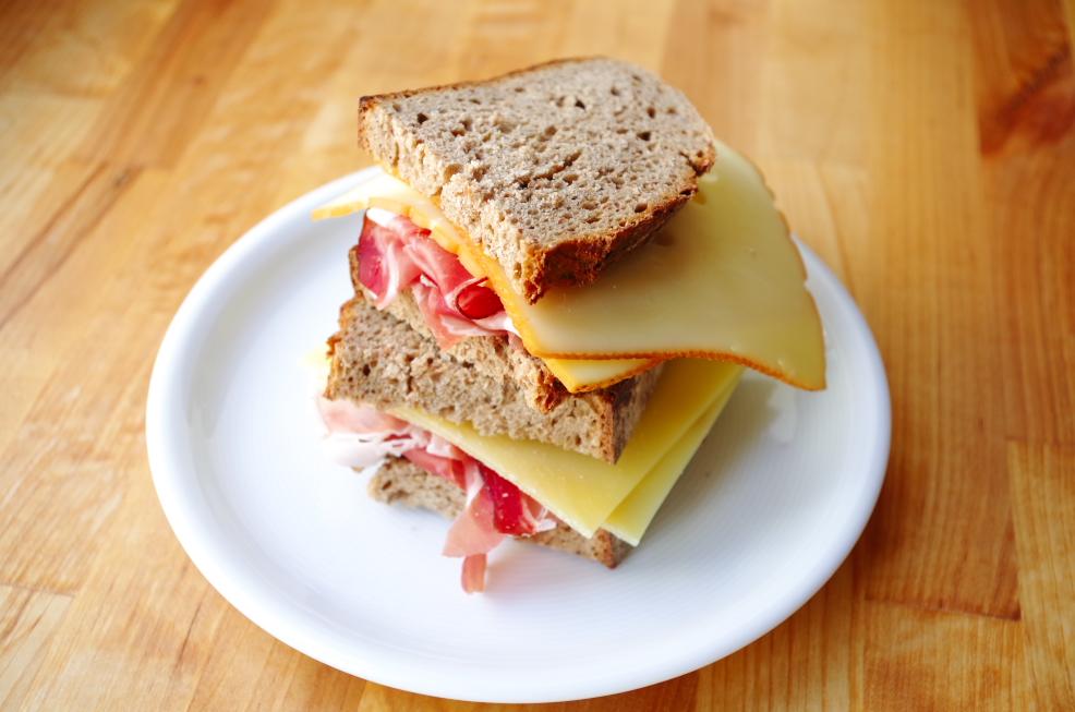 Belegtes Brot Mit Schinken - Belegtes Brot, Transparent background PNG HD thumbnail