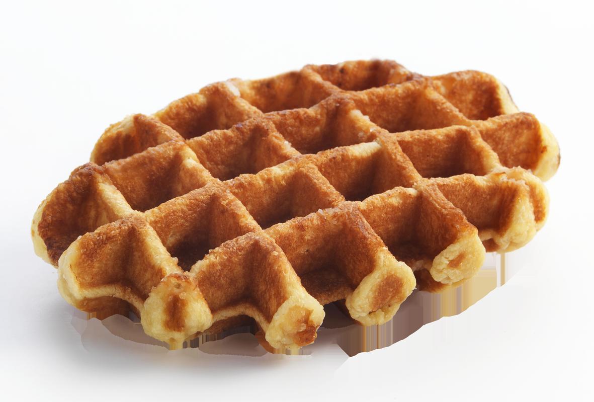 Belgian Sugar Waffle - Belgian Waffles, Transparent background PNG HD thumbnail