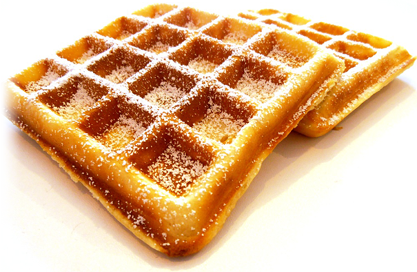 The Word U201Cgaufreu201D In French Comes From The Old French U201Cwafelu201D Which Means U201Ccakeu201D And U201Choneycombu201D. The First Waffles Appeared In The 13Th Century. - Belgian Waffles, Transparent background PNG HD thumbnail