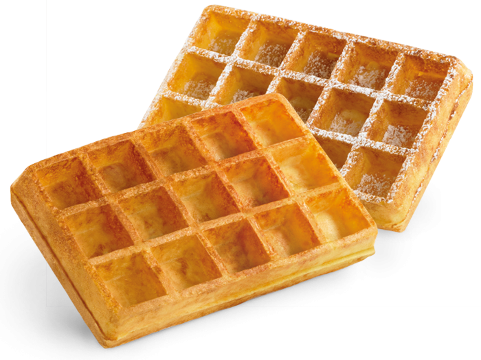 Waffle 5X3.png - Belgian Waffles, Transparent background PNG HD thumbnail