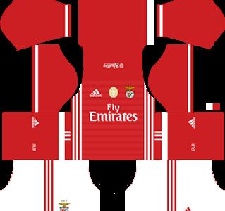 Sl Benfica Fc Kits 2016/2017 Dream League Soccer U2013 Sl Benfica Fc Dls 2016/2017 Kits - Benfica Fc, Transparent background PNG HD thumbnail