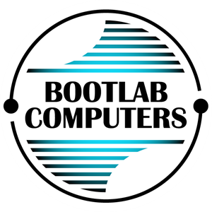 Bootlab Computers Logo Vector - Bicester Computers Vector, Transparent background PNG HD thumbnail