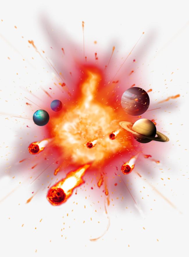Big Bang Explosion PNG