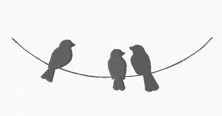 Birds On A Wire Png Hdpng.com 714 - Birds On A Wire, Transparent background PNG HD thumbnail